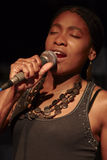 Chanteur du Cuba Image stock