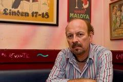 Chanteur espagnol Javier Ruibal Images libres de droits