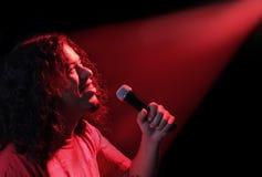 Chanteur ethnique Image libre de droits