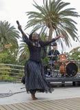 Chanteur Fran?ais-ha?tien Moonlight Benjamin photos libres de droits