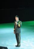 Chanteur masculin célèbre Yan Weiwen-theFamous de Chinois et classicconcert Image libre de droits