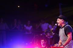 Chanteur, musicien Photographie stock libre de droits