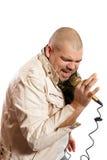 Chanteur Rock Photographie stock libre de droits