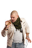 Chanteur Rock Photos libres de droits