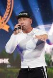 Chanteur Seryoga de hip-hop Images stock