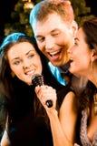 Chanteurs Photo libre de droits