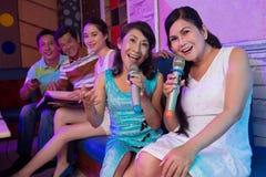 chanteurs Photo stock