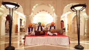 Chanteurs de la musique folk du Ràjasthàn Image libre de droits