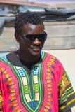 Chanteurs non identifiés de rue des jeunes Images libres de droits