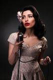 Chanteuse Stock Image