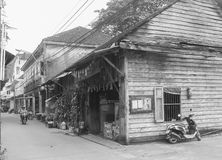 Chanthaboon old town. Vhanthaburi, Thailand Stock Photos