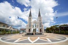 CHANTHABURI - 15 november, 2016: De Katholieke Kerk Stock Foto