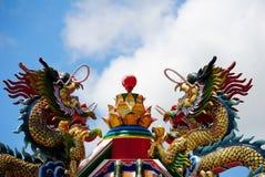 chanthaburidrakerelikskrin thailand Arkivfoton