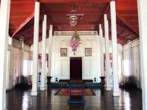 Chantharakasem för korsformig mitt för tält nationellt museum Arkivbild