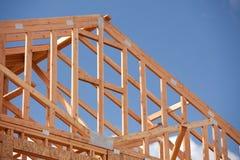 Chantier de construction à la maison abstrait Images libres de droits