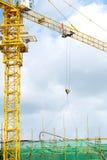 Chantier de construction élevé Photos stock