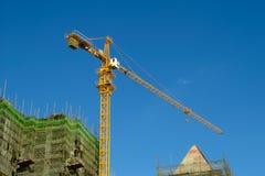 Chantier de construction élevé Image stock