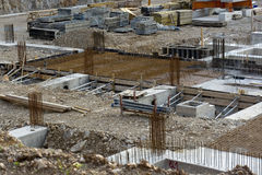 Chantier de construction Image stock