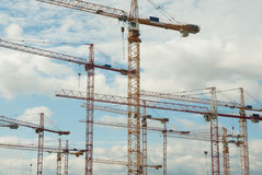 Chantier de construction photo stock
