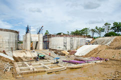 Chantier de construction Images libres de droits