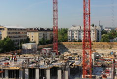 Chantier de construction Images stock