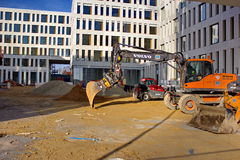 Chantier de construction Photographie stock