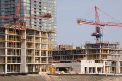 Chantier de construction Photos libres de droits