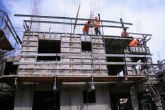 Chantier de construction Photos stock