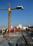 Chantier de construction Photo libre de droits