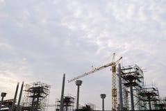 Chantier de construction Photographie stock libre de droits