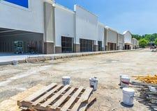 Chantier de construction au détail Images stock