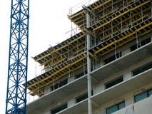 Chantier de construction d'un bloc Image stock