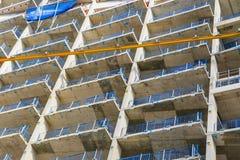 Chantier de construction d'une nouveauté à Greenwich du nord Images libres de droits