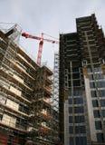 Chantier de construction de gratte-ciel Photographie stock