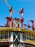 Chantier de construction de la construction Photographie stock