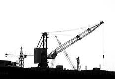 Chantier de construction de large échelle Photographie stock