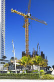 Chantier de construction de Muse Sunny Isles Beach Image stock