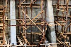 Chantier de construction de pont Photos stock