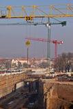 Chantier de construction de tunnel Photo stock