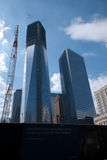 Chantier de construction de World Trade Center Photos stock
