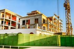 Chantier de construction du bâtiment photos stock