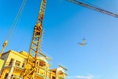 Chantier de construction du bâtiment photographie stock