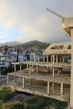 Chantier de construction en dehors de Marabella, Espagne Photographie stock