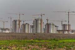Chantier de construction en Israël images libres de droits