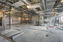 Chantier de construction intérieur photo libre de droits