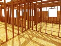Chantier de construction intérieur d'OD Image stock