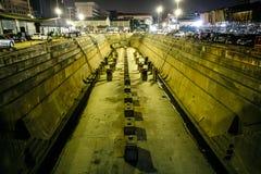 Chantier de construction navale de Bangkok Image libre de droits