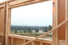 Chantier de construction neuve Image libre de droits