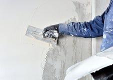 Chantier de construction - plâtre interne Photographie stock libre de droits