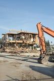 Chantier de démolition de construction photographie stock libre de droits